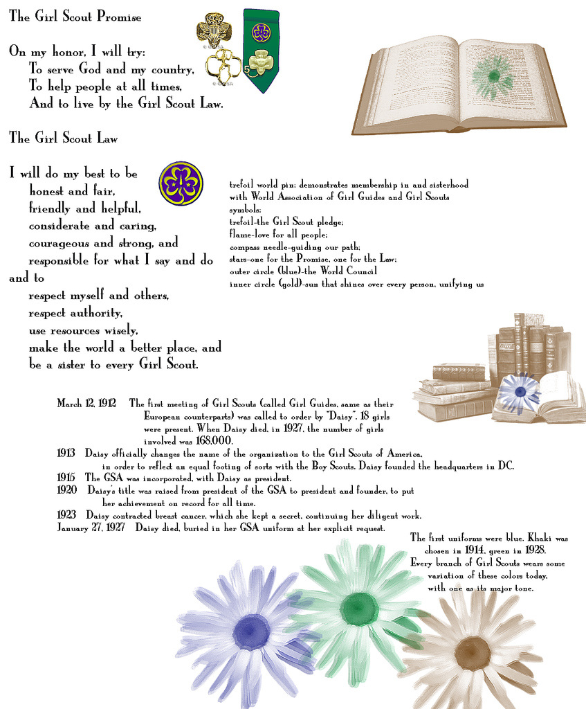 Promise Law Girl Scout Troop 2596